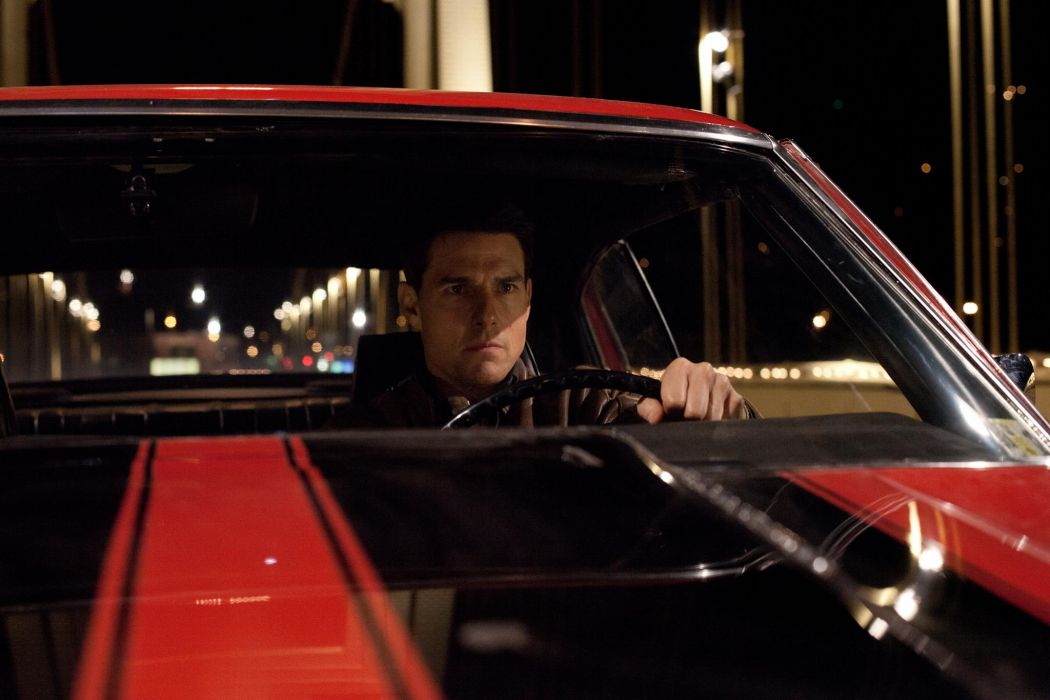 Jack Reacher movies action tom cruise muscle cars wallpaper 1050x700