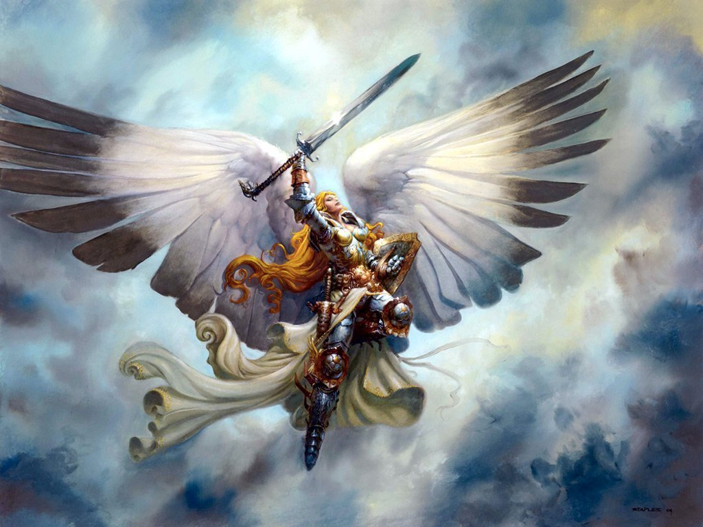 Wallpapers   HD Desktop Wallpapers Online Angels 1024x768