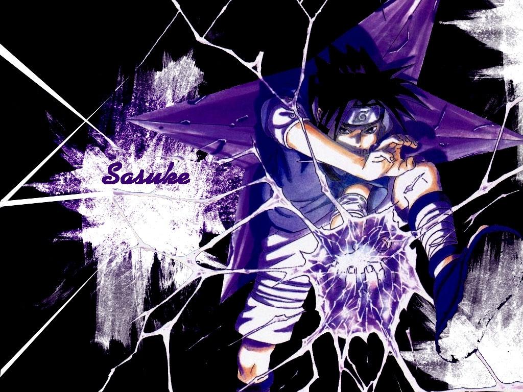 Uchiha Sasuke 1024x768