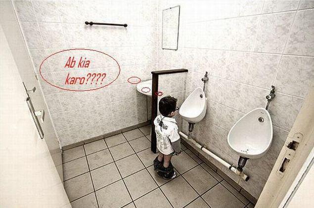 funny wallpaper bathroom 635x422