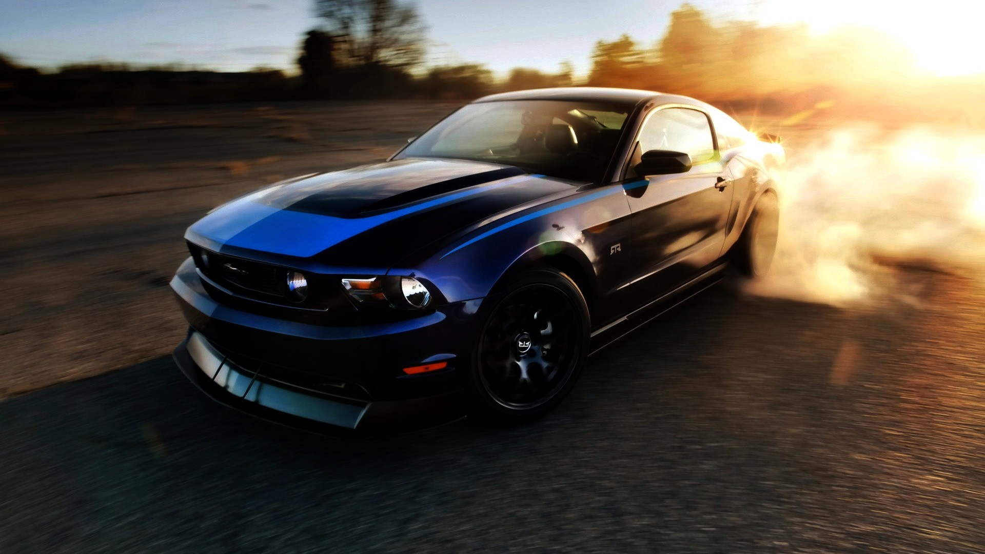 Cars Muscle Wallpaper 1920x1080 Cars, Muscle, Cars, Dust, Ford ...
