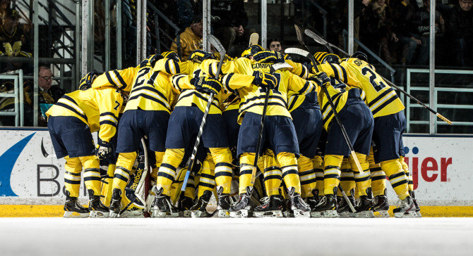Michigan Hockey Michigan at Michigan State    Game 2 Notes 670x364