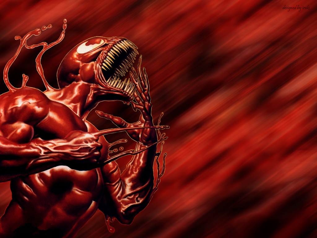 Venom   Carnage wallpapers are presented on the website Wallpaper 1024x768