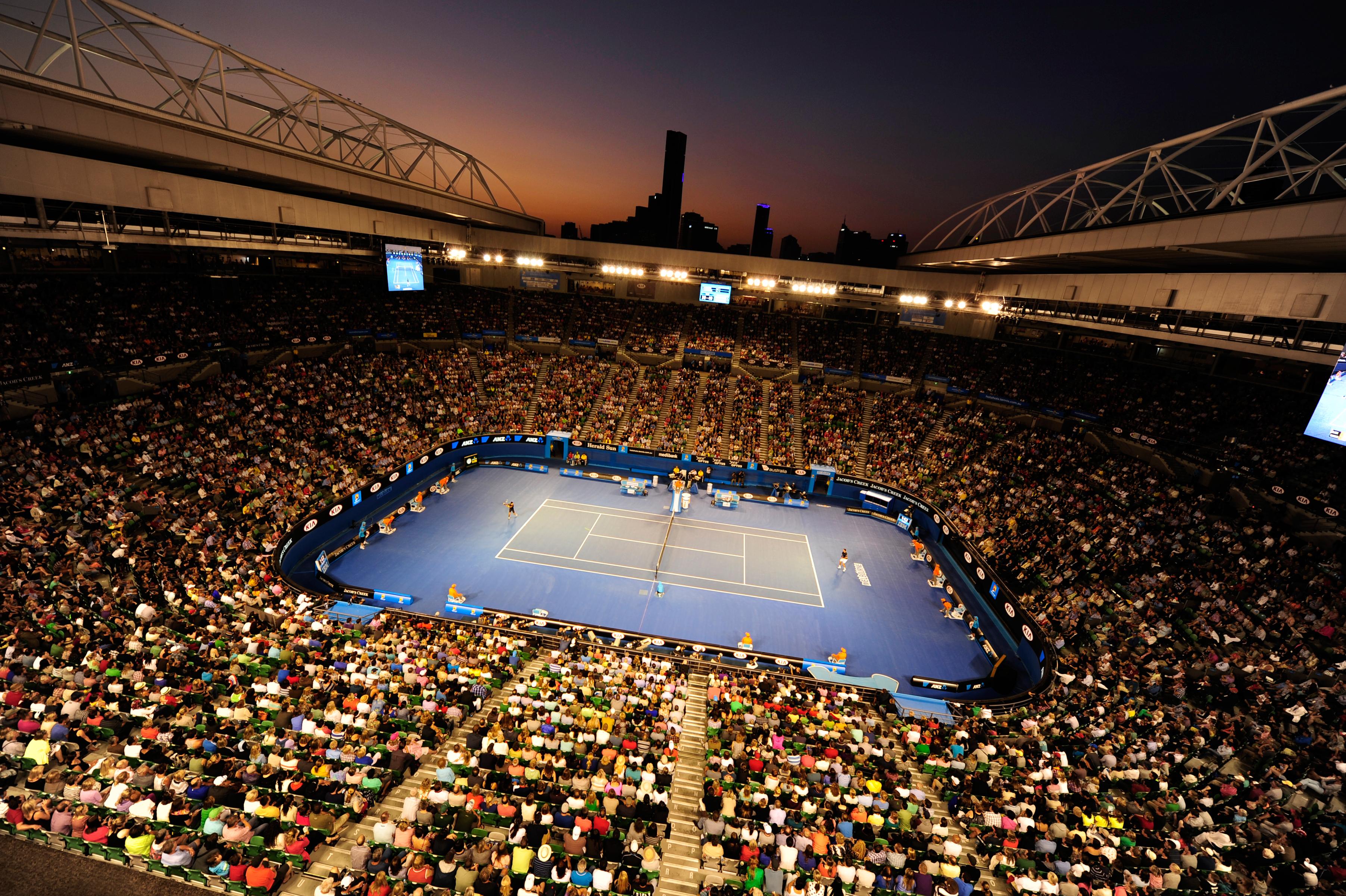 Tennis court wallpaper wallpapersafari - Court wallpaper ...