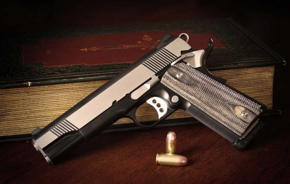 Wallpaper custom 1911 gun weapon wallpapers weapon   download 596x380