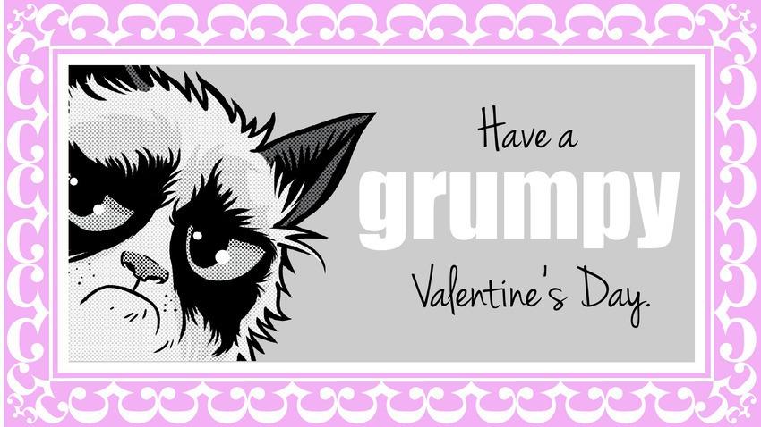 grumpy cat valentine attitude cover photos for facebook 15 850x478