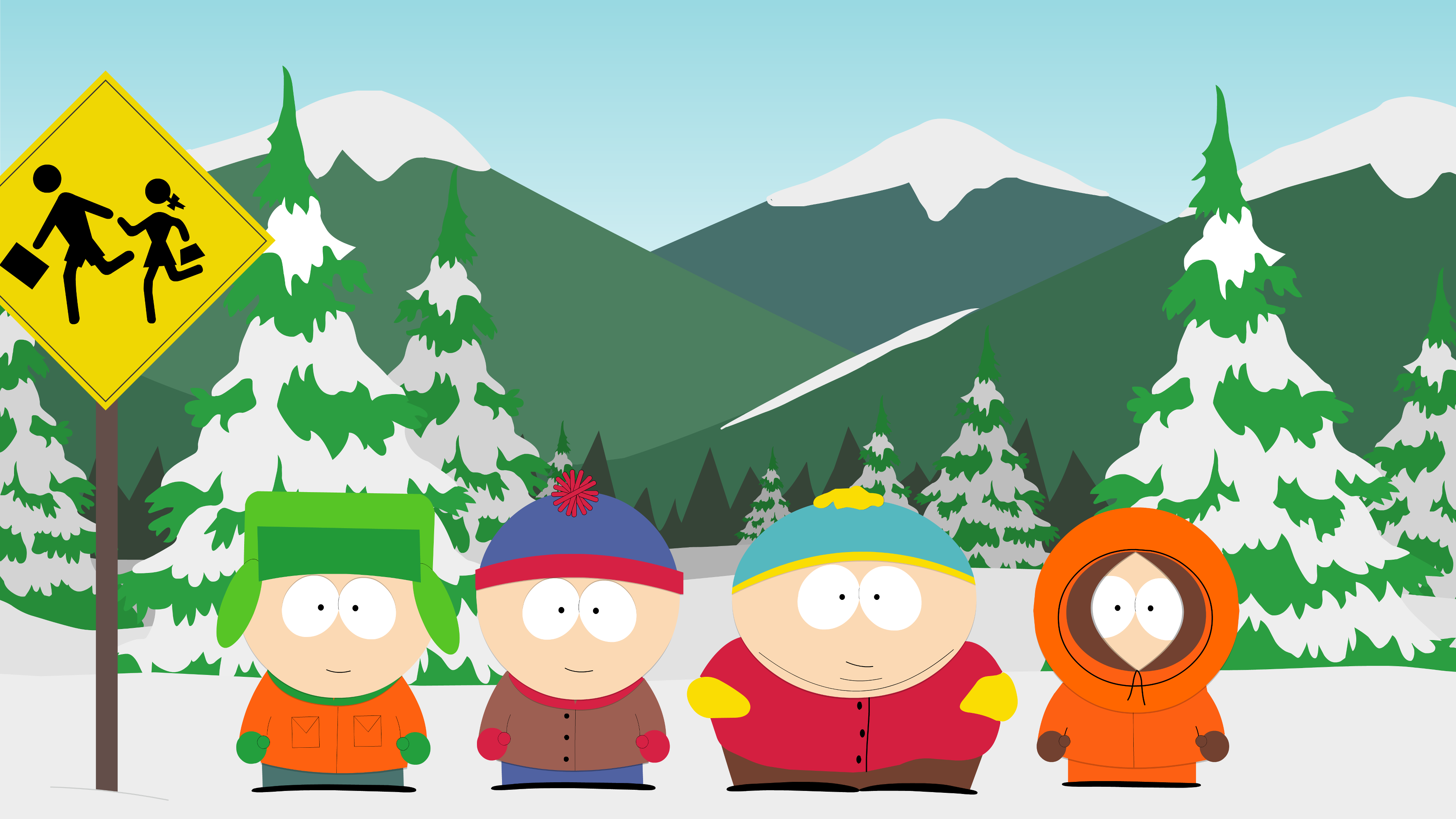 Wallpaper Abyss Explore the Collection South Park TV Show South Park 3840x2160