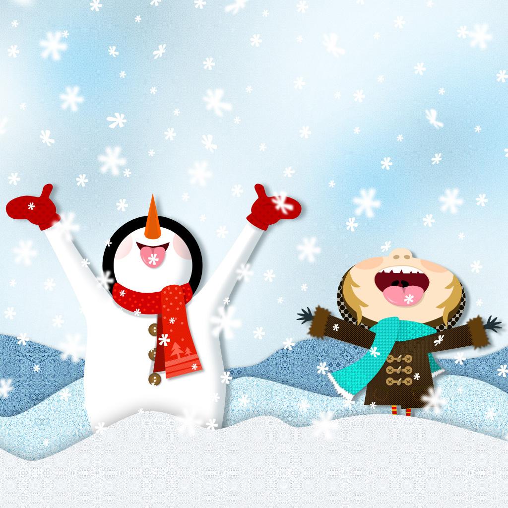Сделать, открытки к дню снега