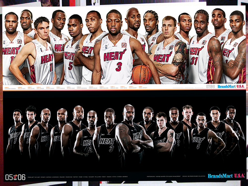 Miami Heat Player Posters Flickr   Photo Sharing 500x375