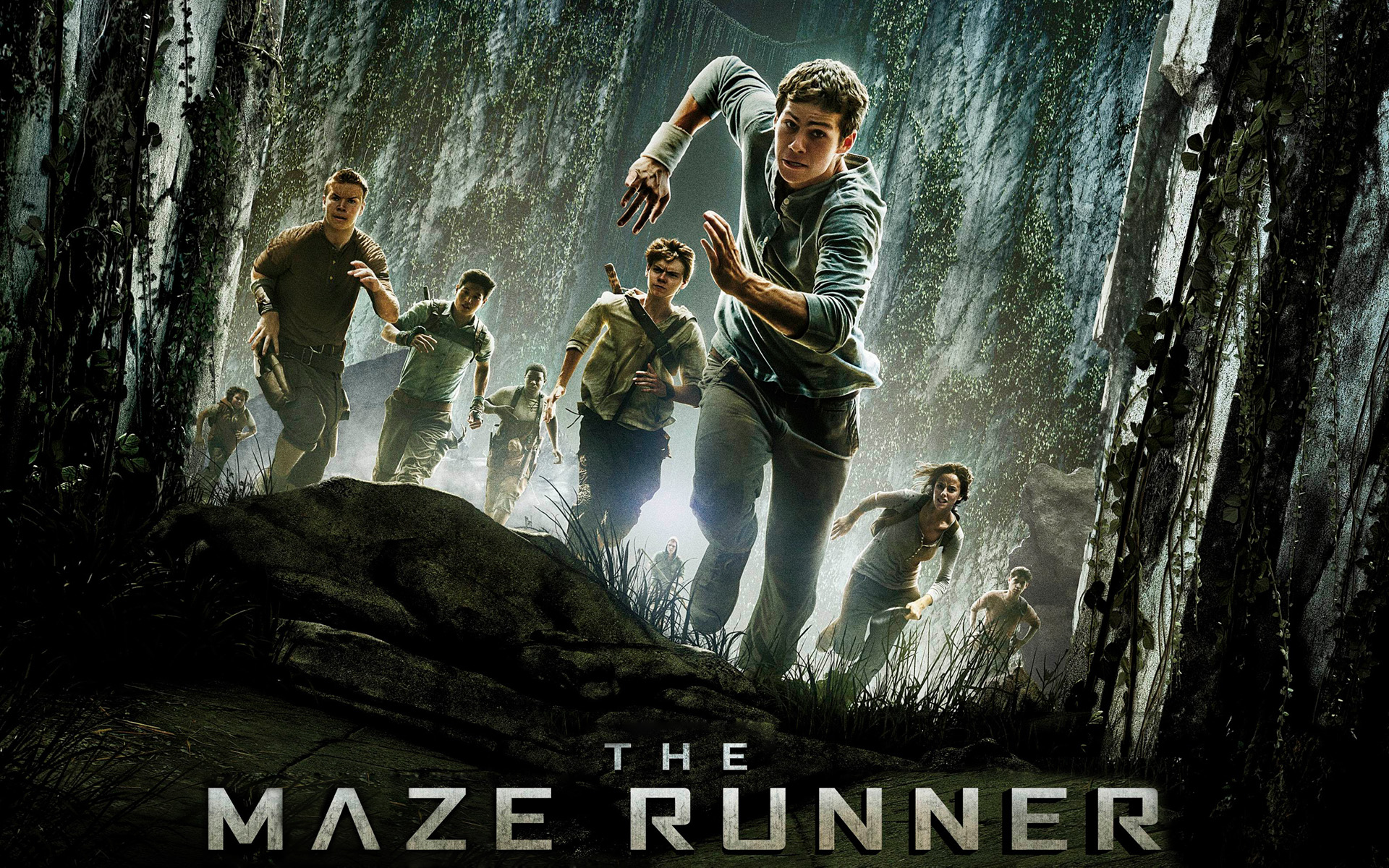 2014 The Maze Runner Movie Wallpaper 1920x1200