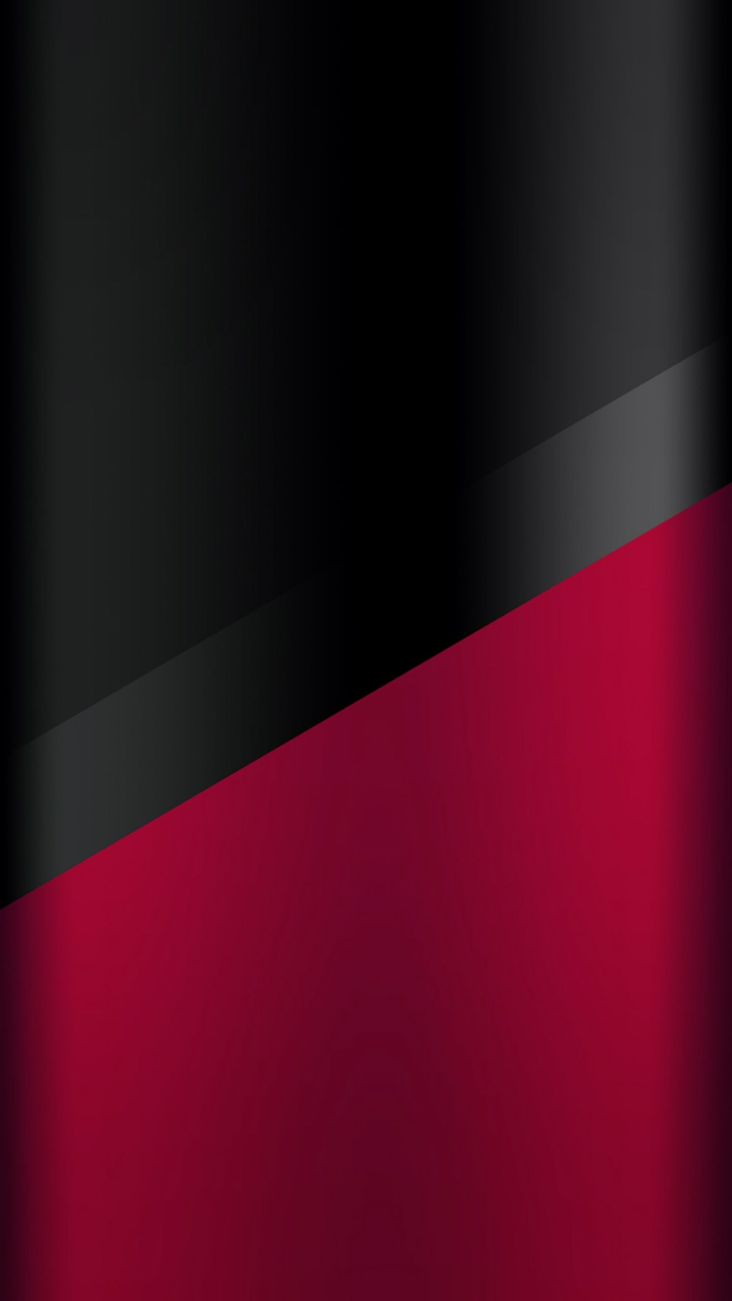 Dark S7 Edge Wallpaper 03   Black and Red Samsung galaxy 1440x2560
