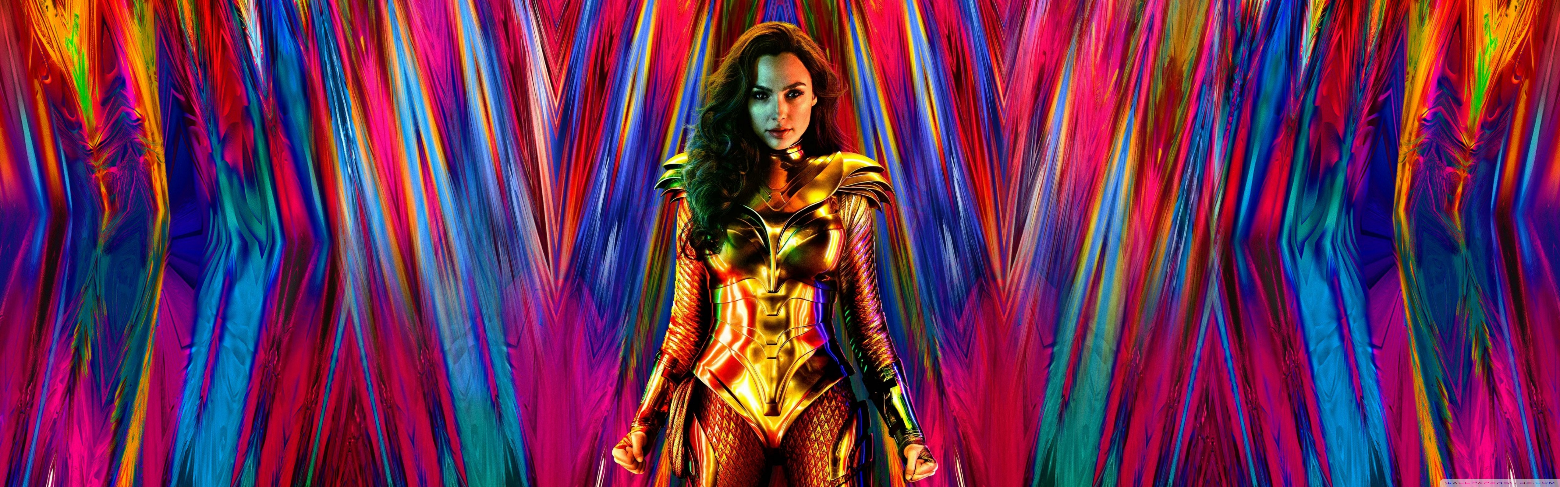 Wonder Woman 1984 Movie 2020 Ultra HD Desktop Background Wallpaper 5120x1600