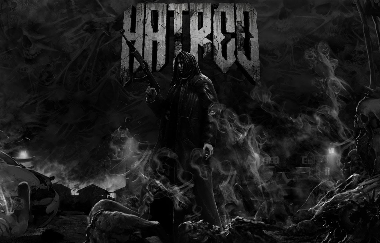 Wallpaper smoke hatred corpses killer Hatred images for 1332x850