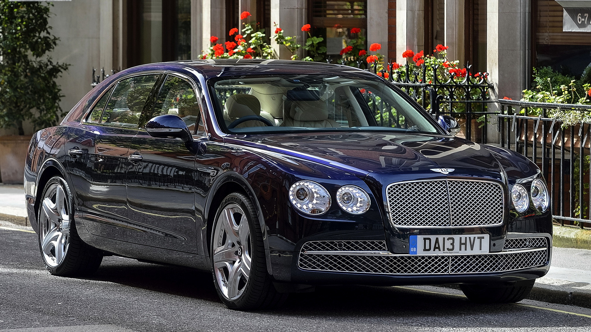 2013 Bentley Flying Spur UK   Wallpapers and HD Images Car Pixel 1920x1080
