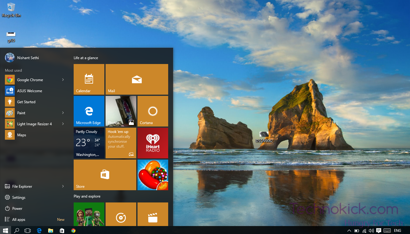 How To   Change Wallpapers automatically in Windows 10   TechnoKick 1336x764
