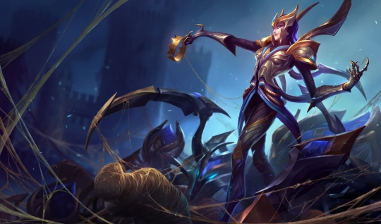 Victorious Elise The Spider Queen Wallpaper 540x318
