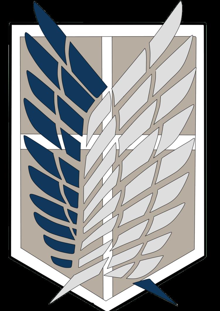 Attack On Titan Scouting Legion Emblem Scauting legion   shingeki 752x1063