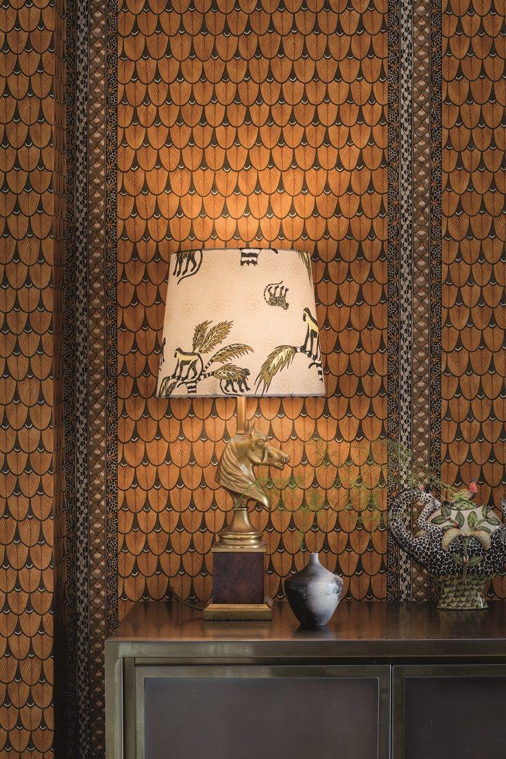 Narina by Cole Son   Burnt Orange   Wallpaper   10910050 in 735x1102