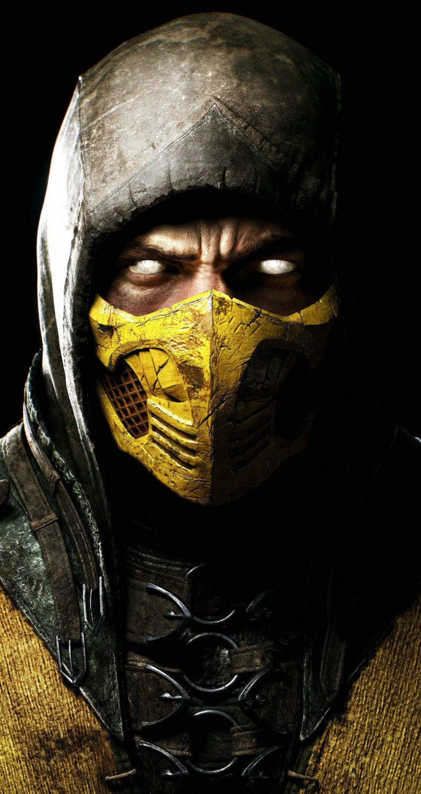Scorpion Mortal Kombat X HD wallpaper for iPhone 6   HDwallpapersnet 852x1608