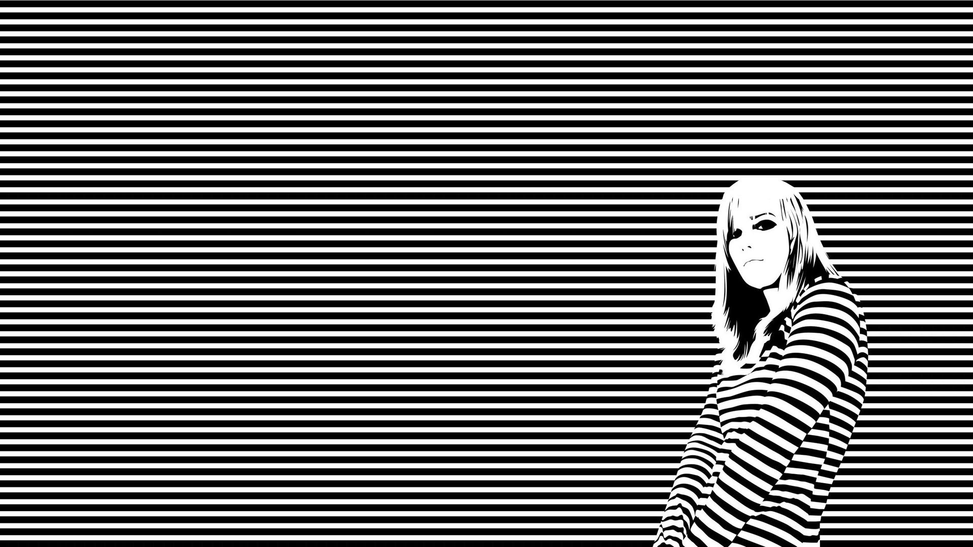 Black And White Stripes wallpaper 235570 1920x1080