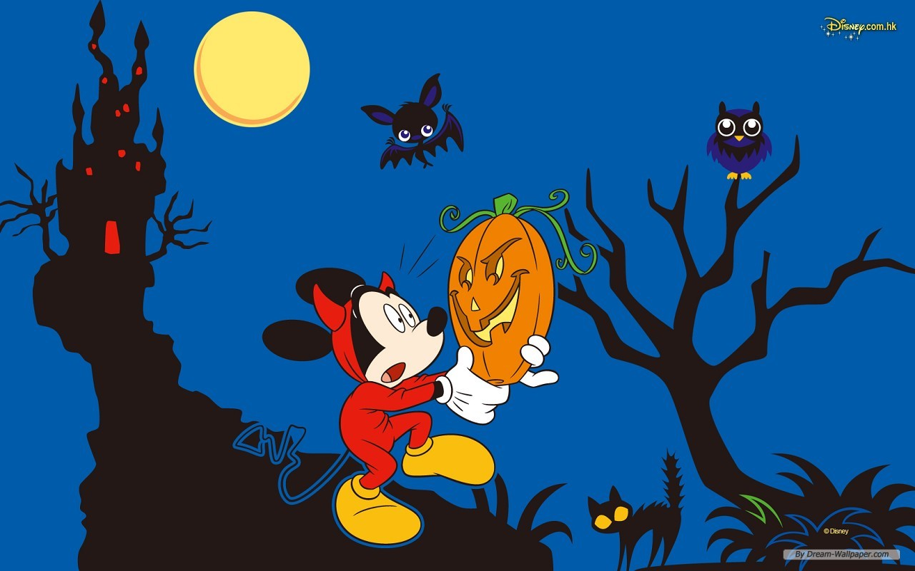 Disney Halloween - Sites Of Great Wallpapers Wallpaper (33253947 ...