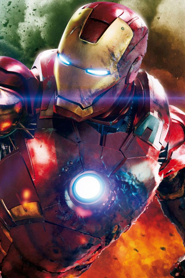 the avengers iron man iphone wallpaper FizX Entertainment iPhone 640x960