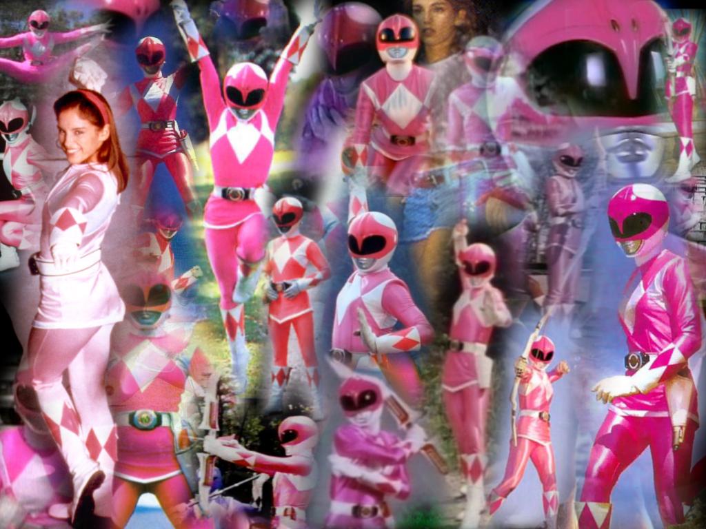 Power Rangers All Pink Wallpaper PicsWallpapercom 1024x768