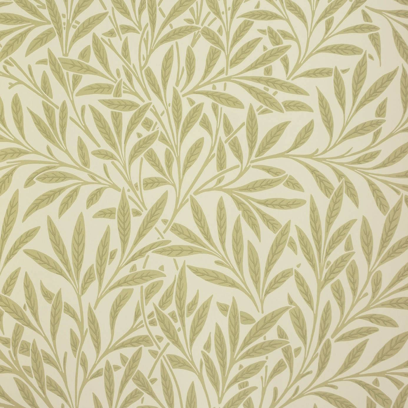 Willow Wallpaper   Olive 210383   William Morris Co 1386x1386