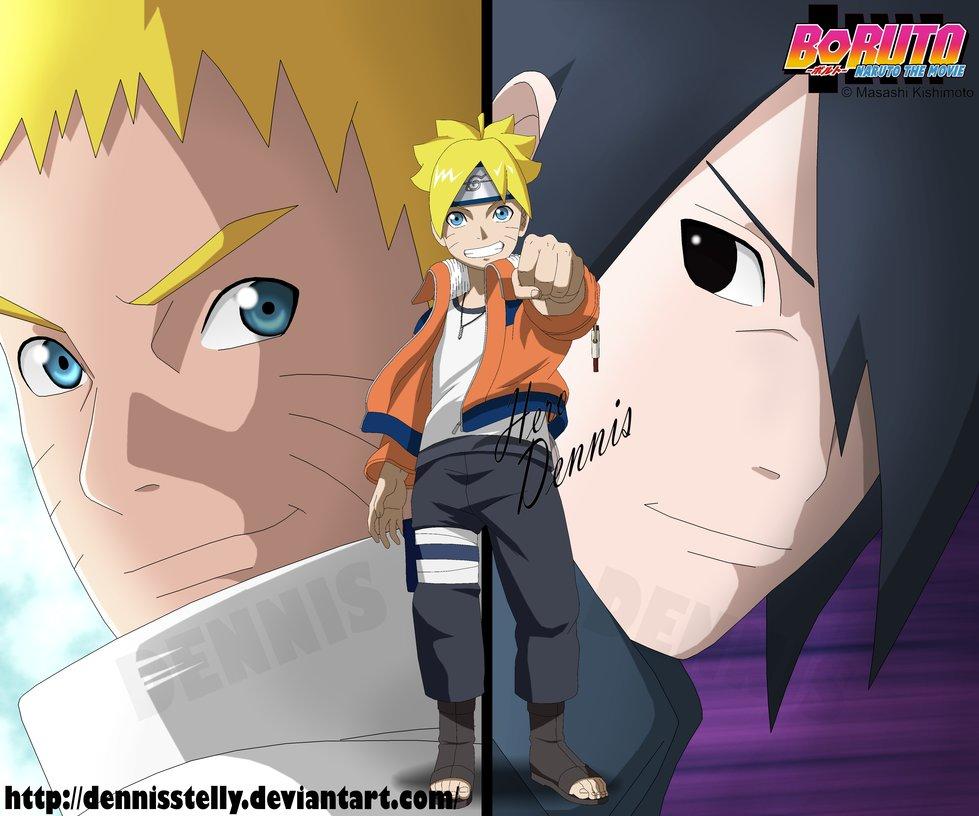 Boruto   Naruto the Movie   Cover by DennisStelly 979x816