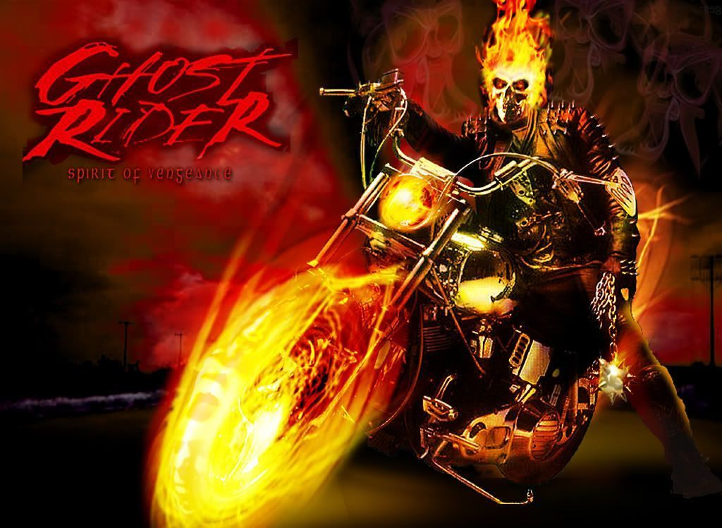 Ghost rider wallpaper bike   Hd Ghost Rider Motorcycle Wallpaper 1024x748