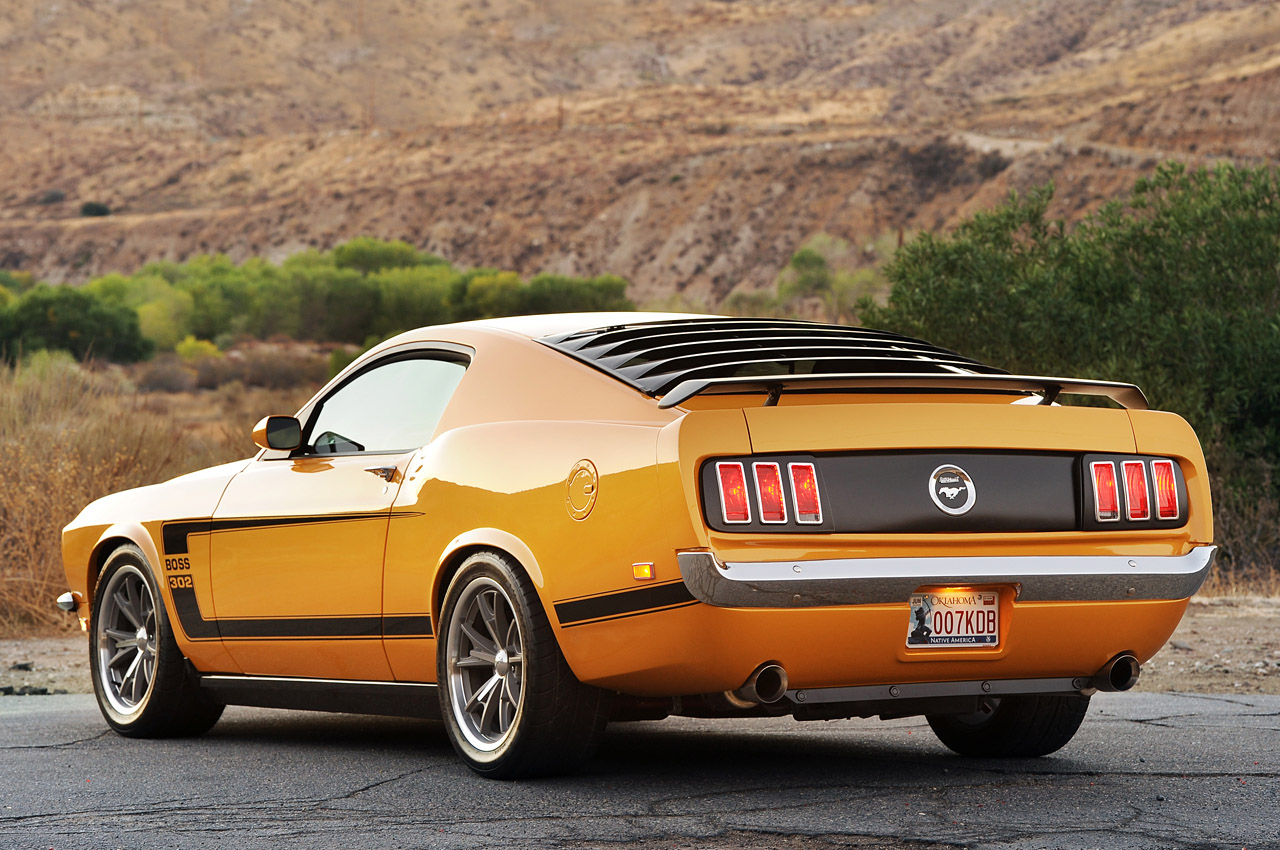 69 mustang mach 1 wallpaper Retrobuilt 1969 Mustang Fastback First 1280x850