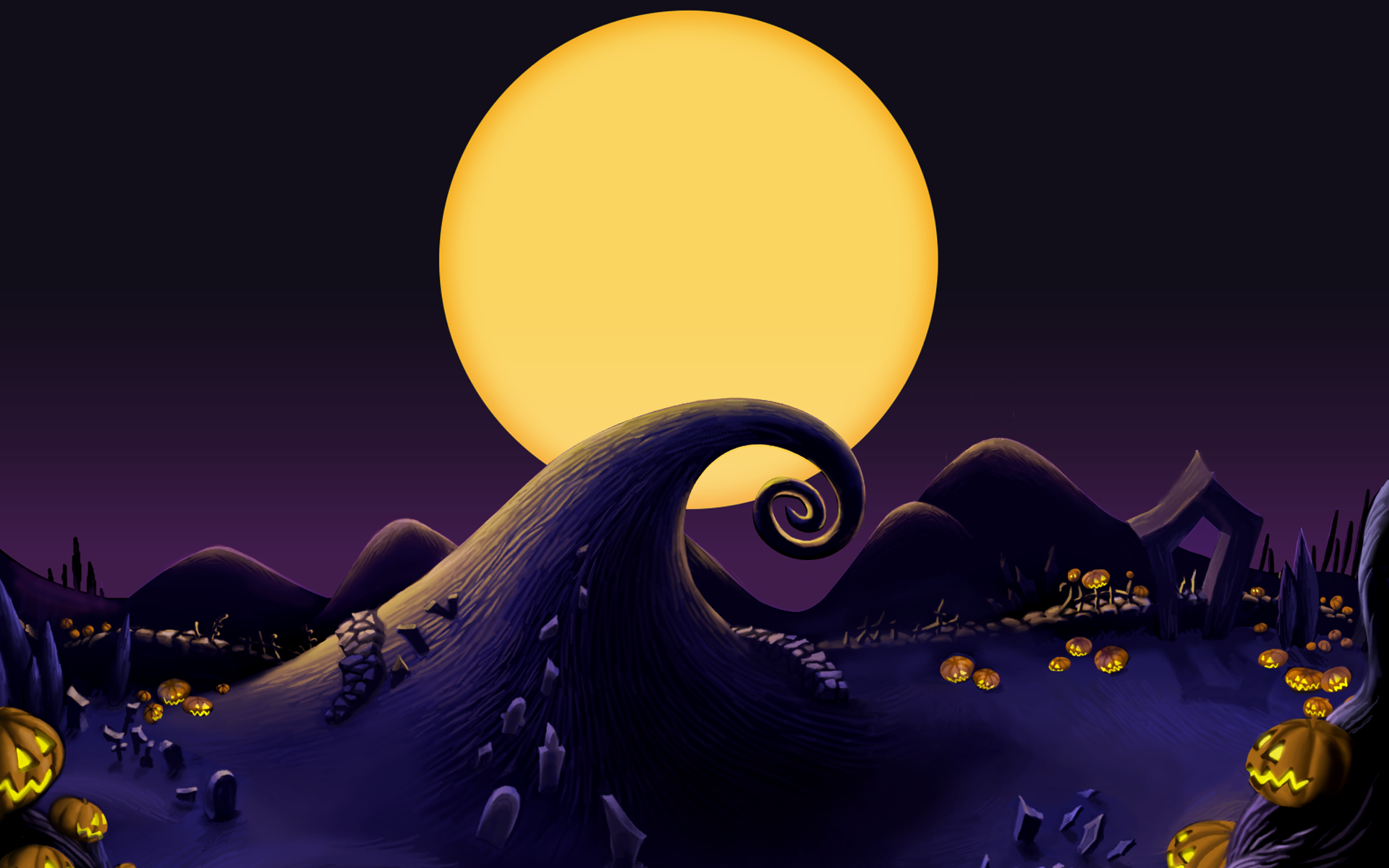 The Nightmare Before Christmas Wallpapers Group 80 1920x1200