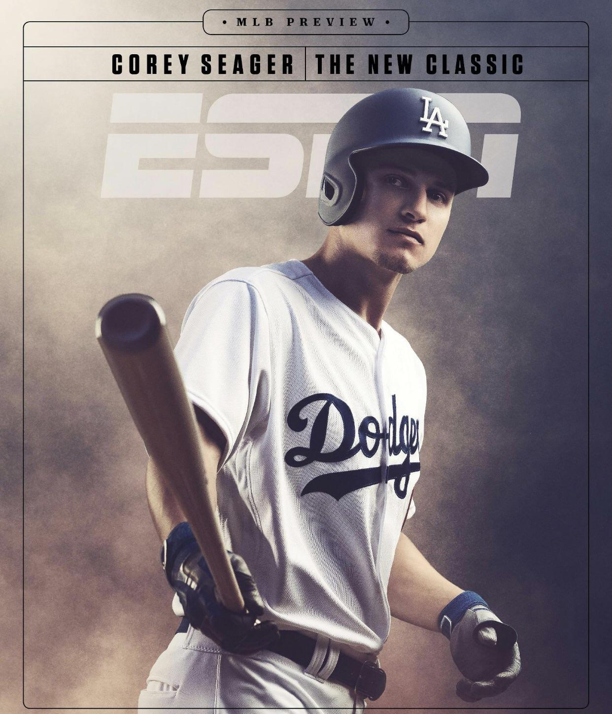 Shortstop phenom Corey Seager makes the cover of ESPN the 1242x1449