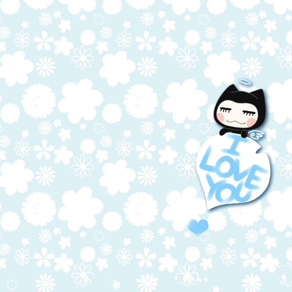 Cute love girl wallpaper iPad Backgrounds Best iPad Wallpaper 1024x1024