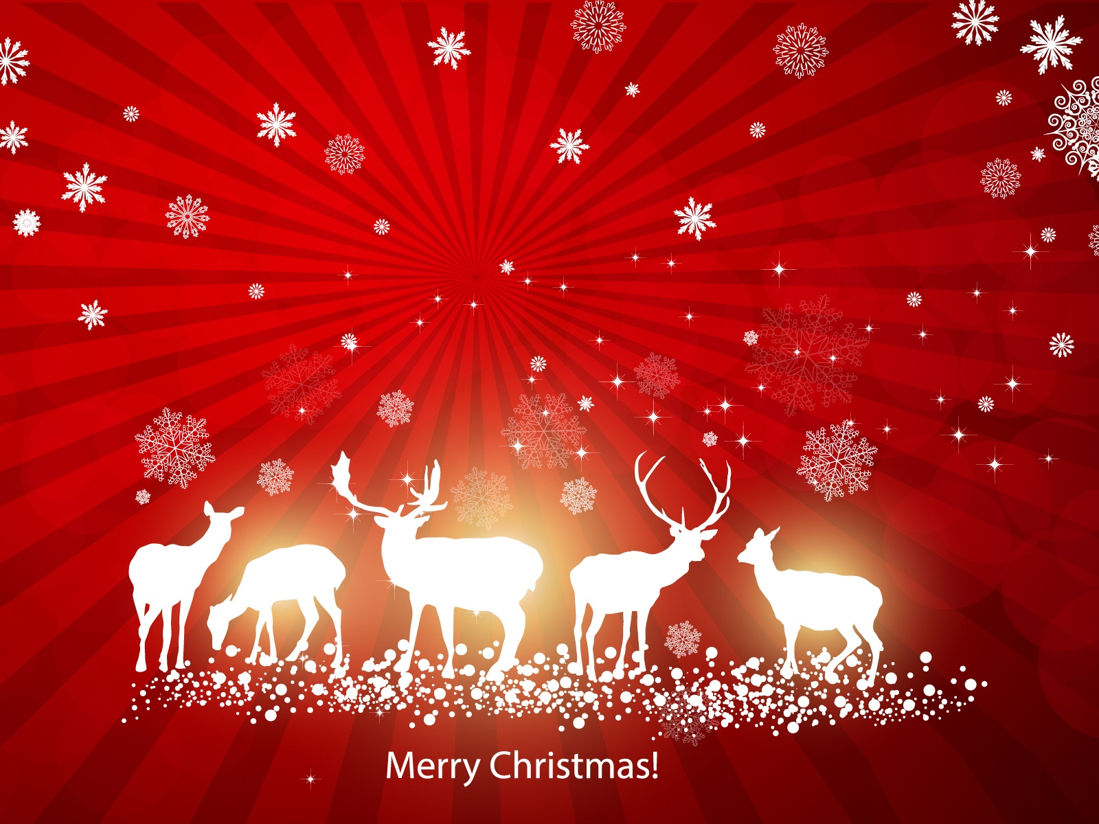 Merry Christmas Wallpapers 1600x1200
