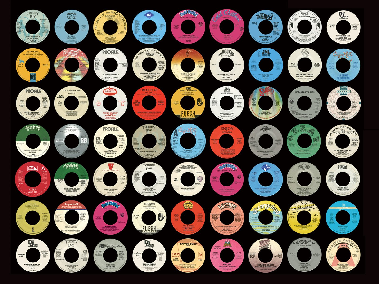 Vinyl Records Wallpaper 1600x1200