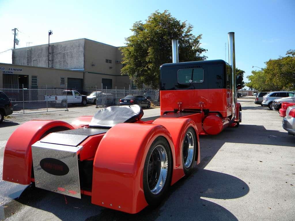 View Of Custom Lowrider Peterbilt Truck Hd Car Wallpapers 1024x768