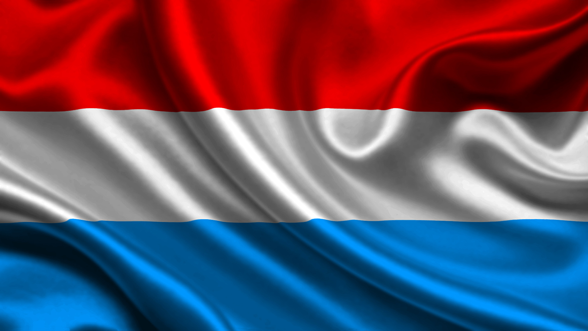 Photos Luxembourg Flag Stripes 2048x1152 2048x1152