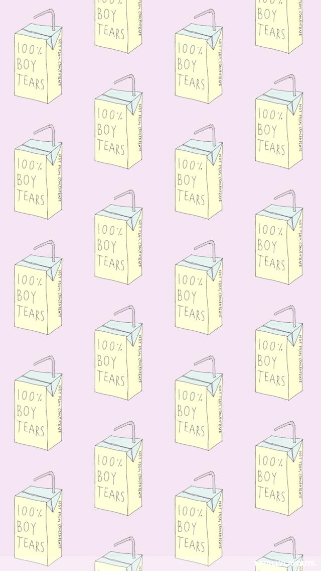 100 Percent Boys Tears Whatsapp Wallpaper   Lilac 296529   HD 640x1136