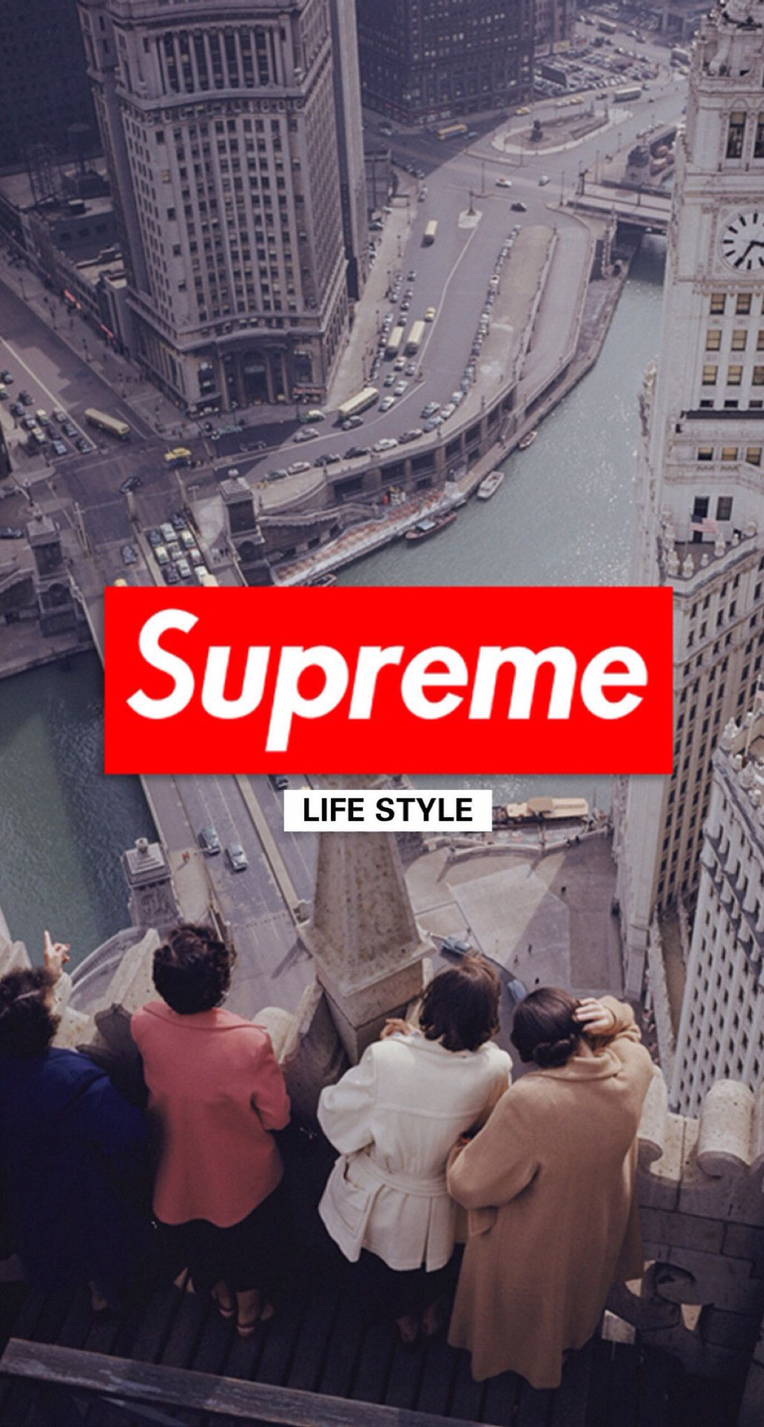 Iphone X Supreme Wallpaper 4k 1038685   HD Wallpaper Download 1096x2048