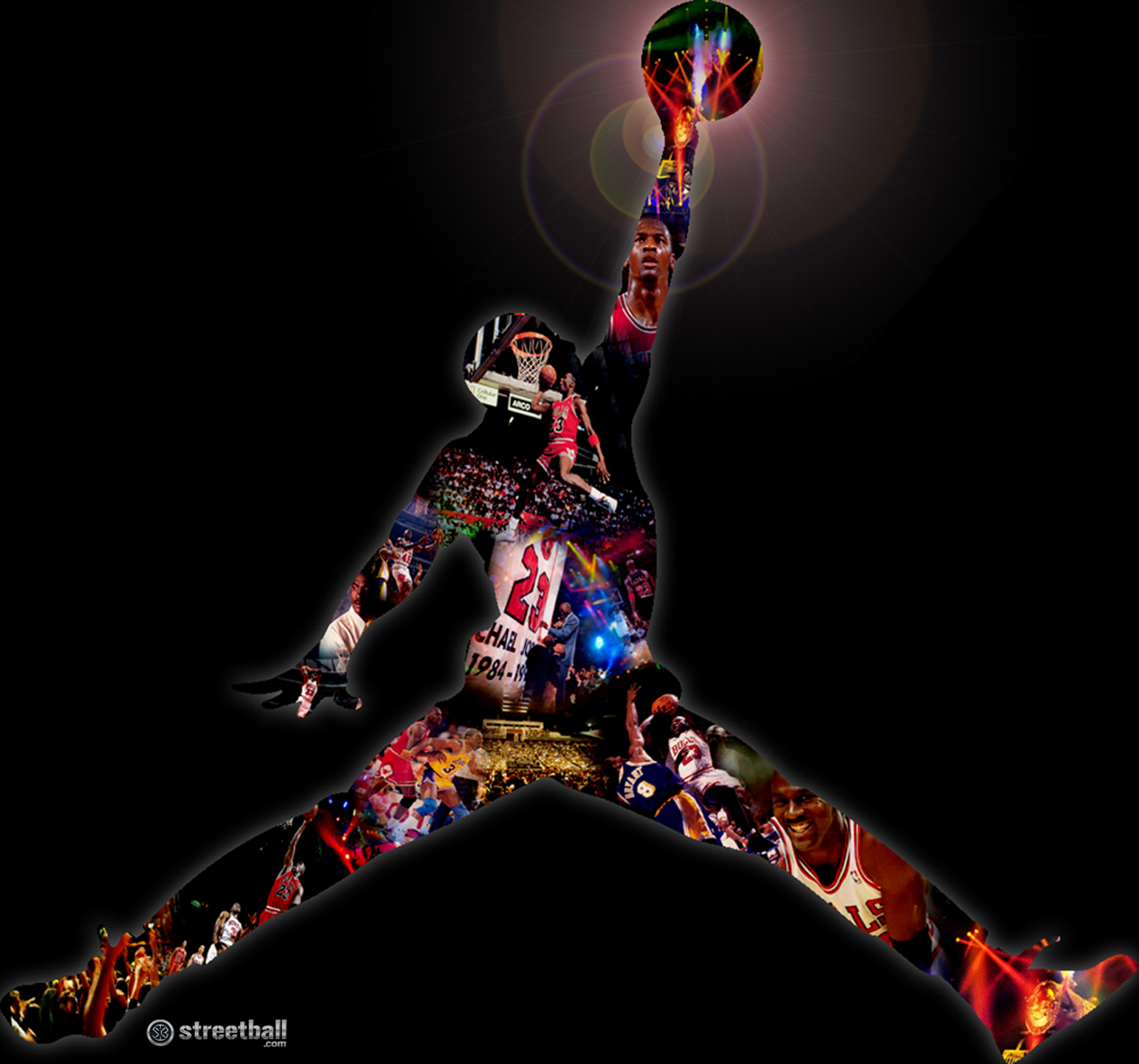 Free Download Cool Michael Jordan Logo [1280x1196] For