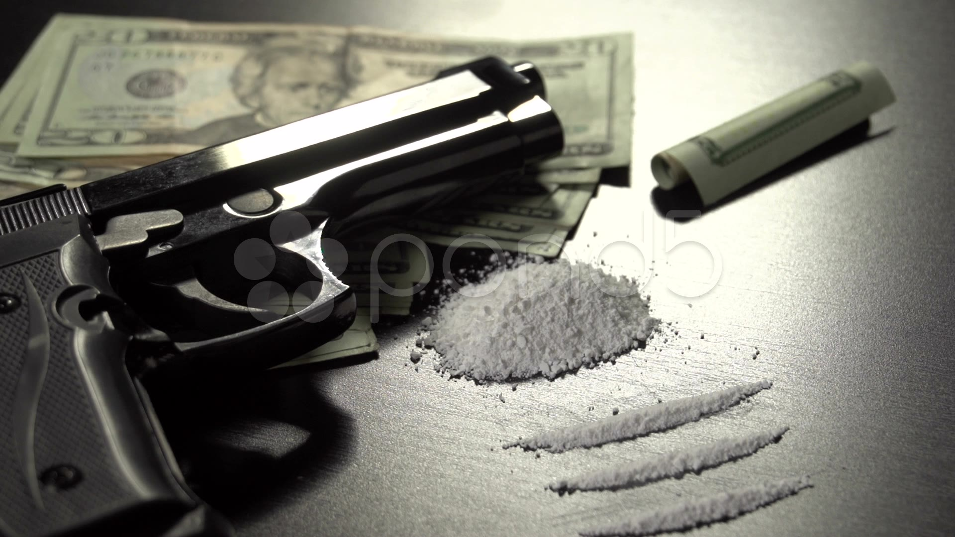 Dolly Of Drugs Guns And Money Stock Video 22377644 HD Stock 1920x1080