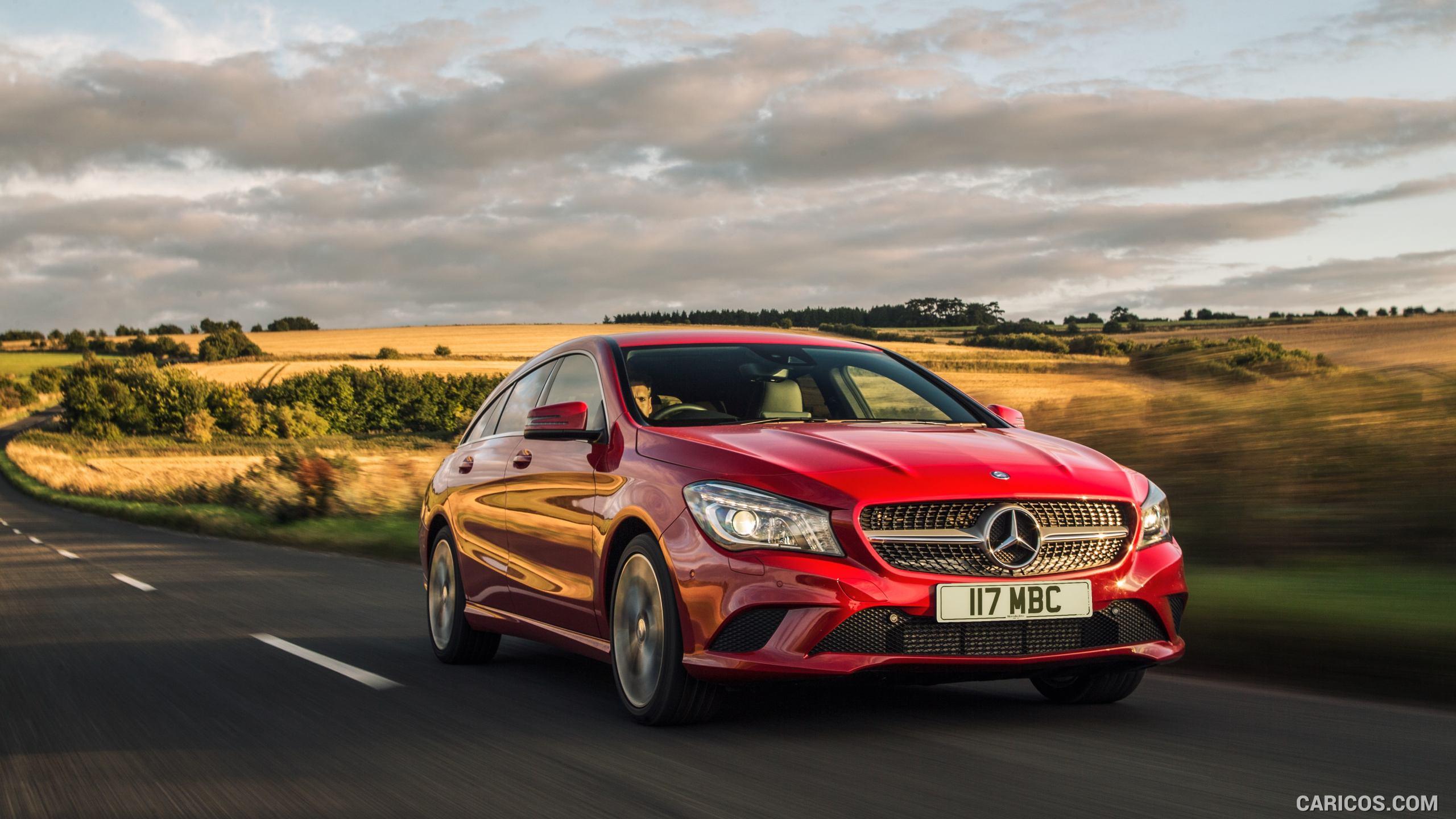 2015 Mercedes Benz CLA 200 CDI Shooting Brake UK Spec   Front 2560x1440