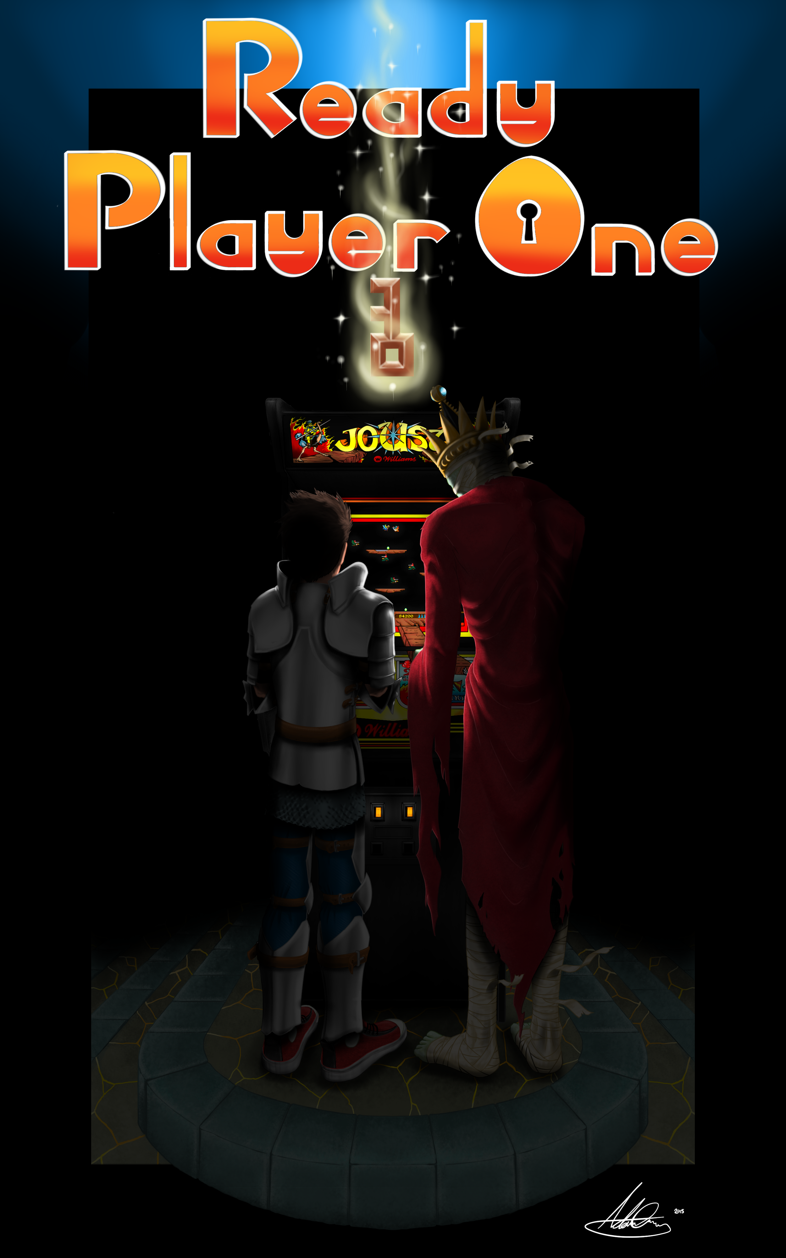 Free Download Ready Player One By Dead Bl00d 2500x4000 For Your