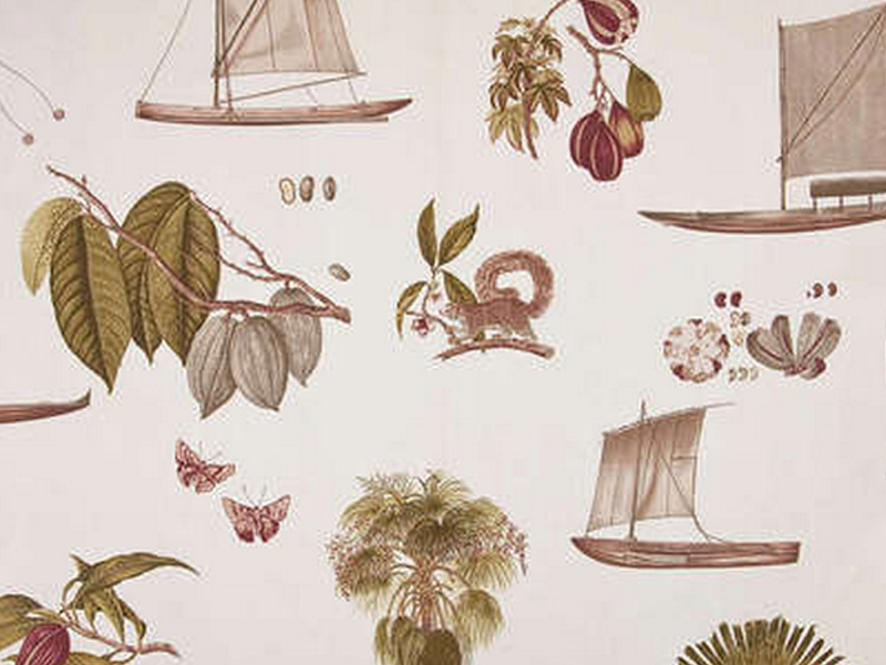 Boussac of france wallpaper wallpapersafari for Collection pierre frey