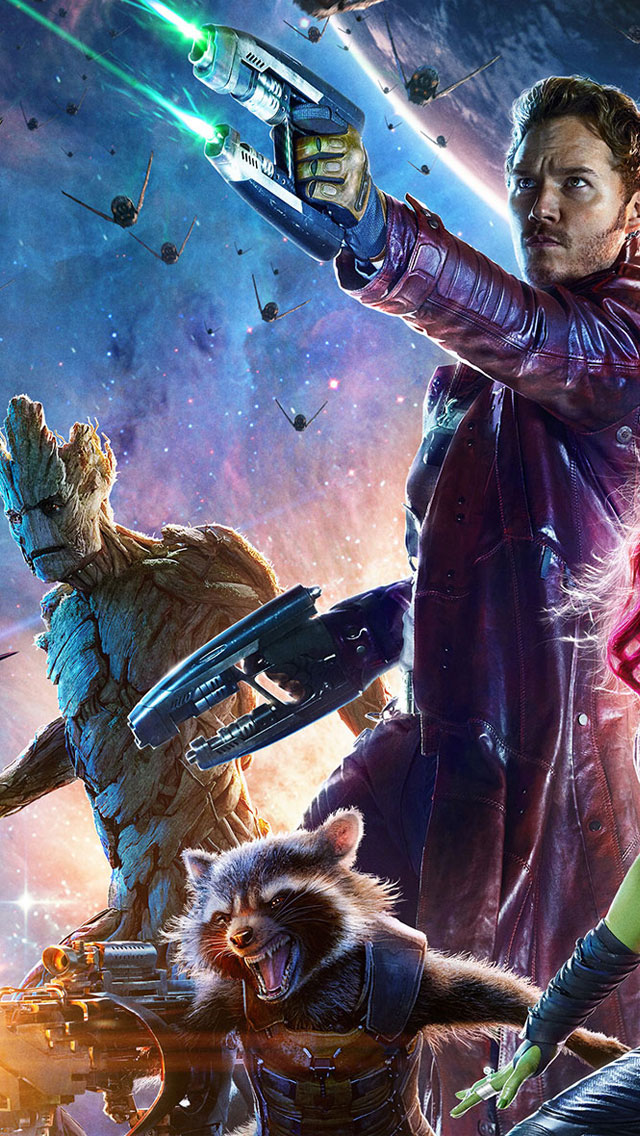 Marvels Guardians of the Galaxy 2014 HD Wallpapers for 640x1136