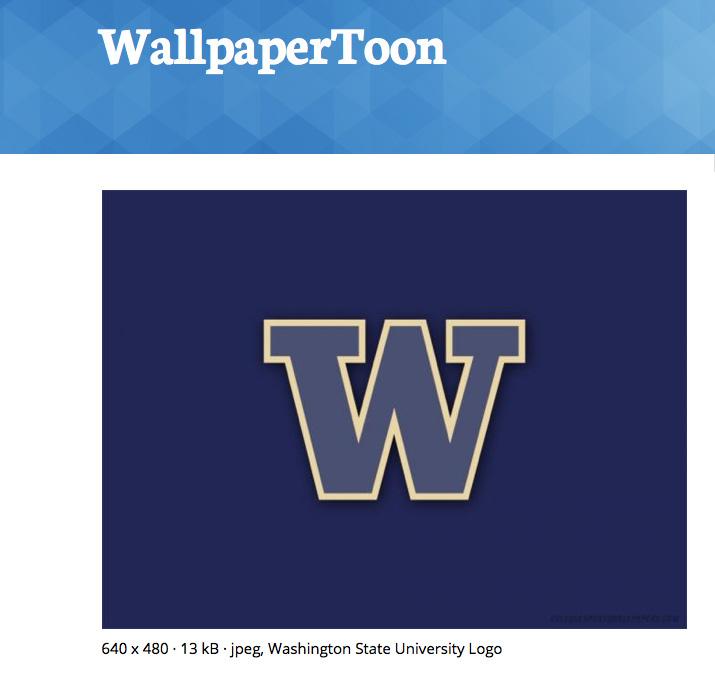 UW CSE News Washington State University logo wallpaper 715x678