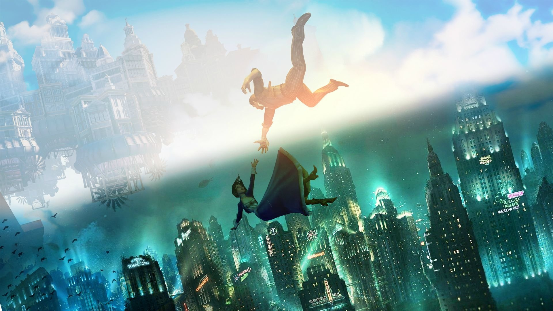 363 Bioshock HD Wallpapers Background Images 1920x1080
