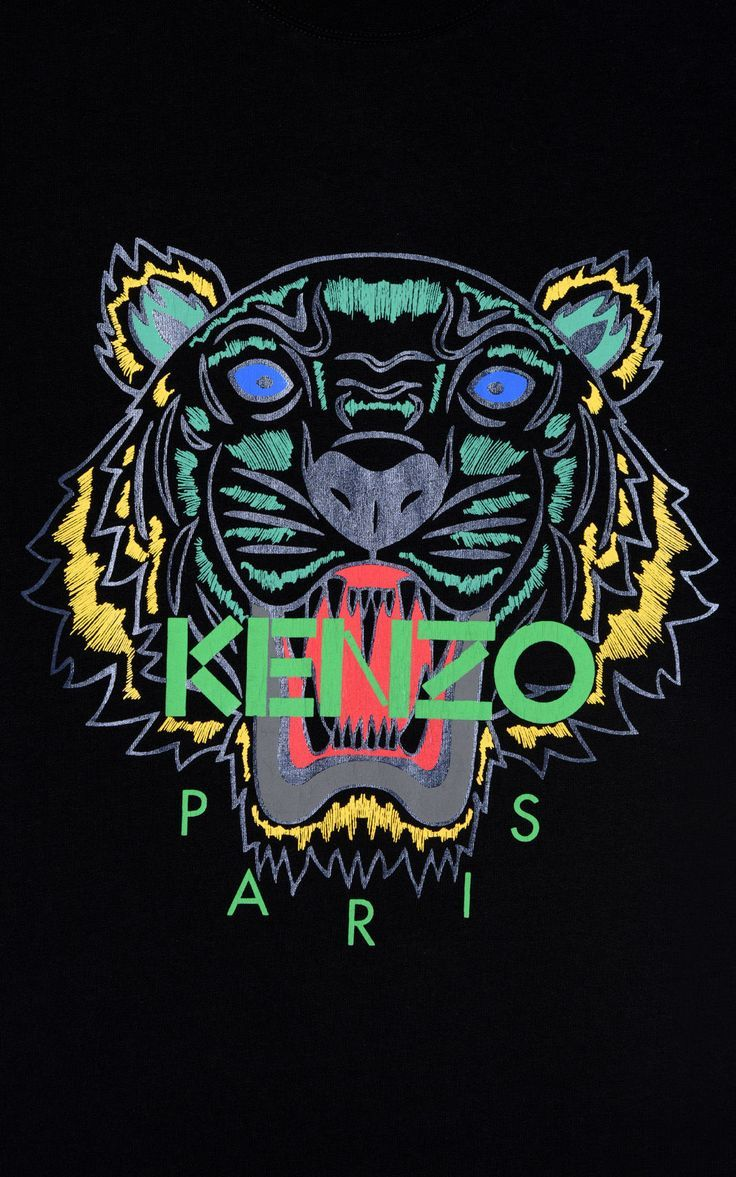 BLACK Holiday Capsule Collection Tiger T shirt for women KENZO 736x1177