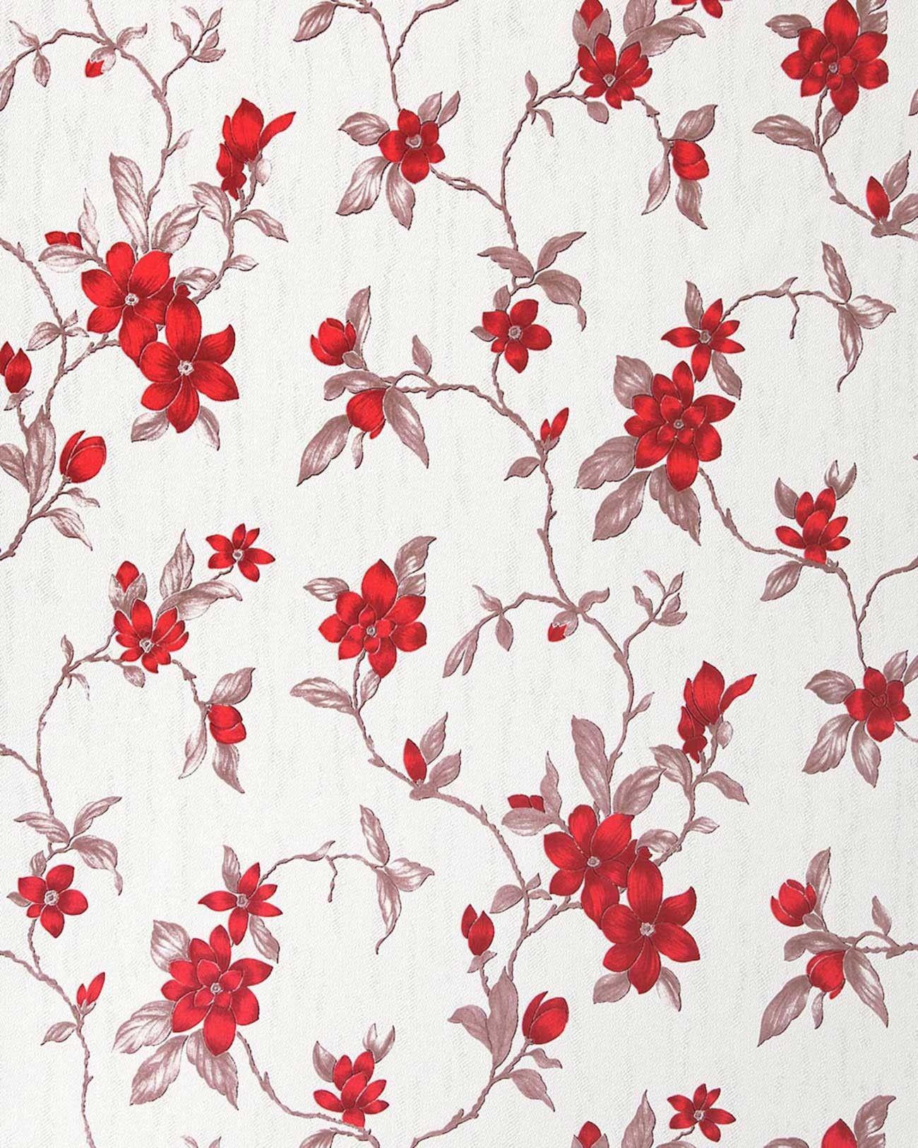 Red And White Patterned Wallpaper: Red And Cream Wallpaper